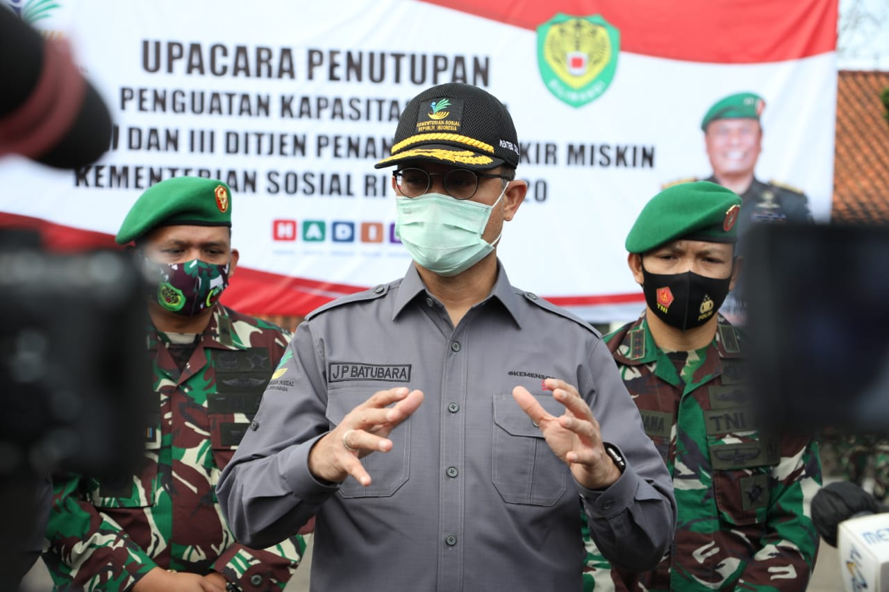 Mensos Minta SDM Pendamping Awasi Kelancaran Program Strategis