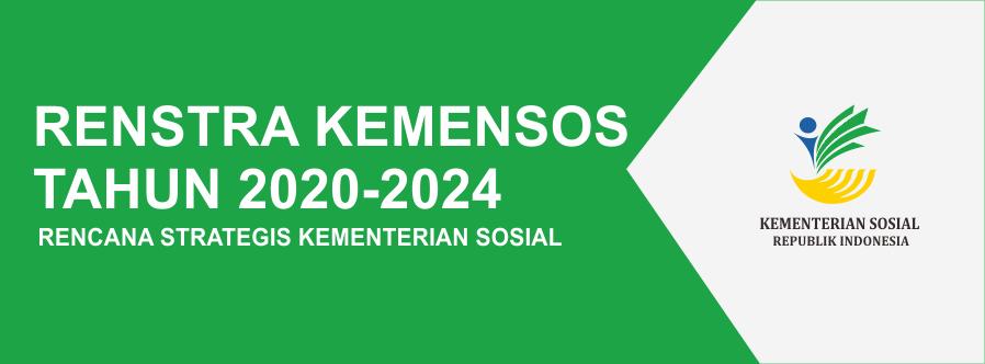 Recana Strategis Kementerian Sosial tahun 2020-2024