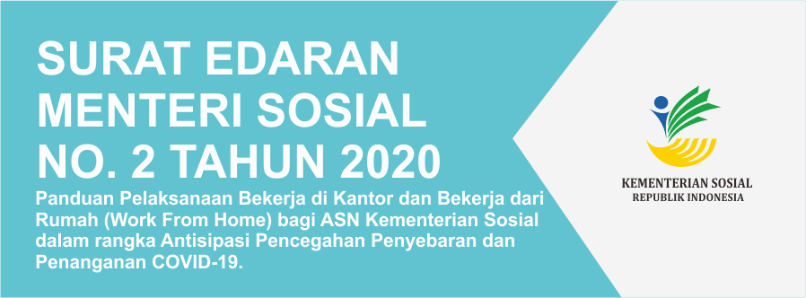 Surat Edaran Menteri Sosial Nomor 2 Tahun 2020