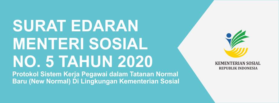 Surat Edaran Menteri Sosial Nomor 5 Tahun 2020
