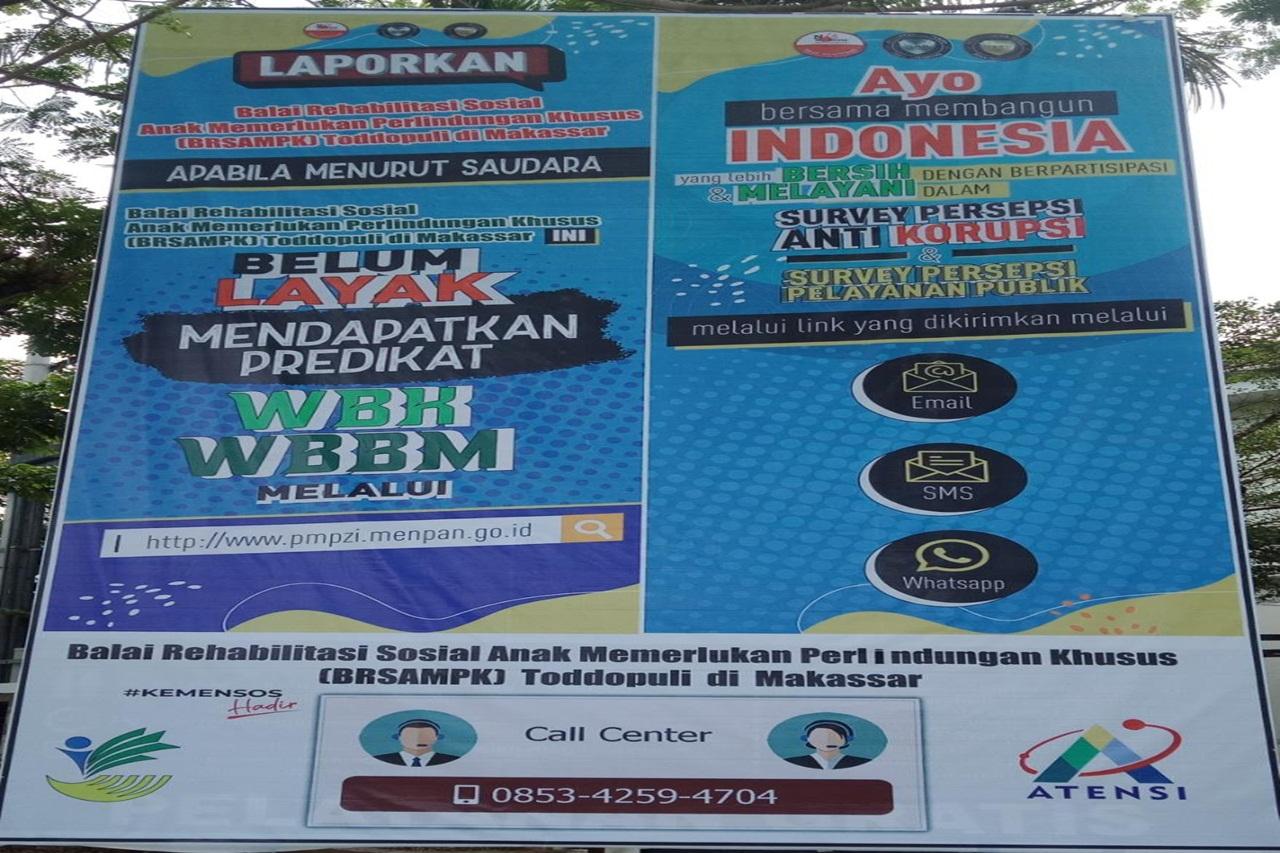 "BRSAMPK ""Toddopuli"" Makassar Menuju ZI WBK WBBM"