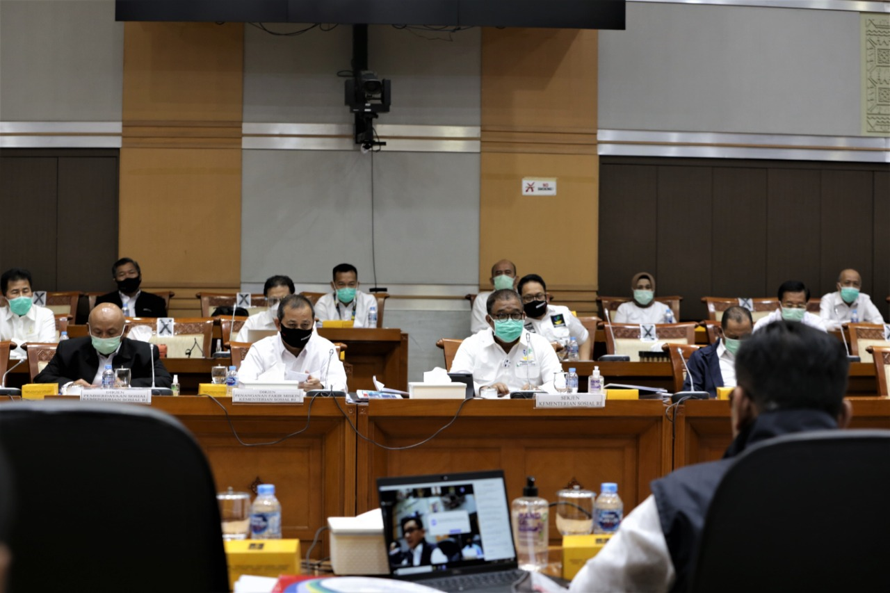DPR Dukung Penuh Anggaran Masing-masing Unit Eselon I Kemensos