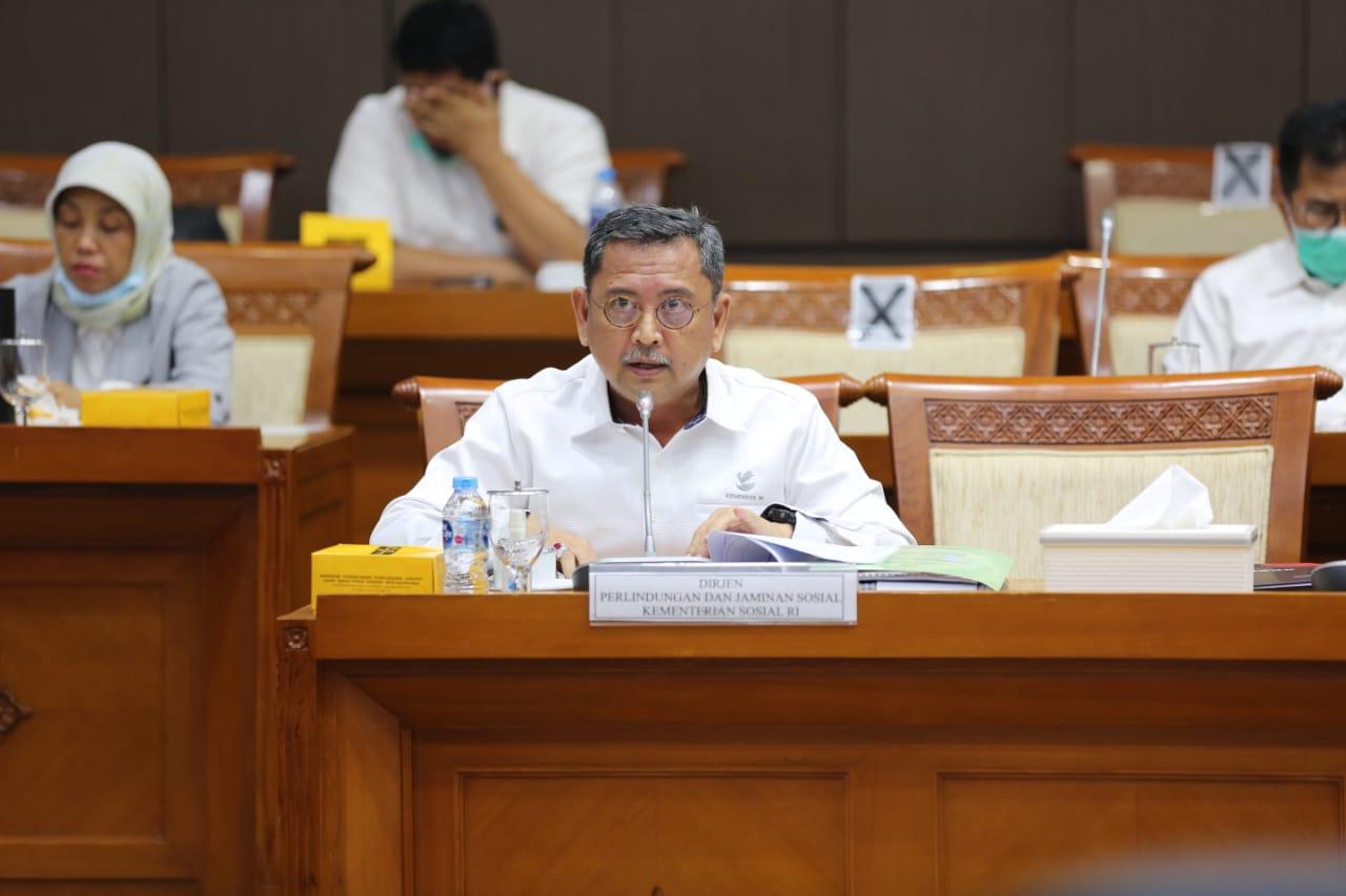 DPR Setuju Kemensos Alokasikan Anggaran Rp 30,9 Triliun untuk Program Perlindungan dan Jaminan Sosial