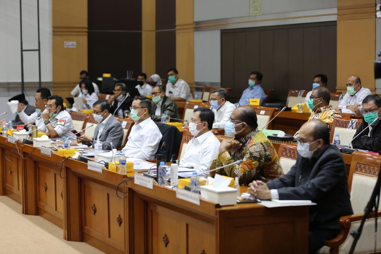 Pembahasan RUU PB Bersama Komisi VIII DPR RI