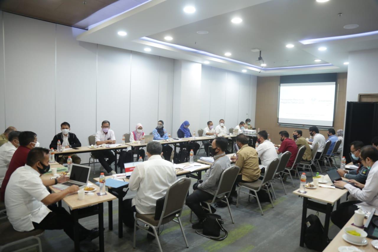 Rakor Pembahasan Realisasi Anggaran dan Potensi SILPA Ditjen Linjamsos