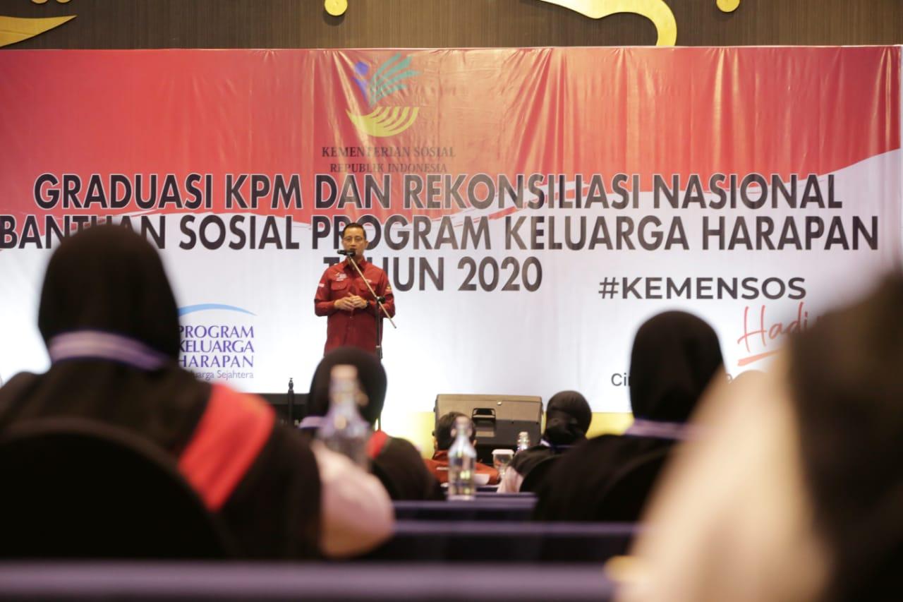 Rekonsiliasi Nasional Penyaluran Bansos dan Peningkatan Kapasitas SDM PKH