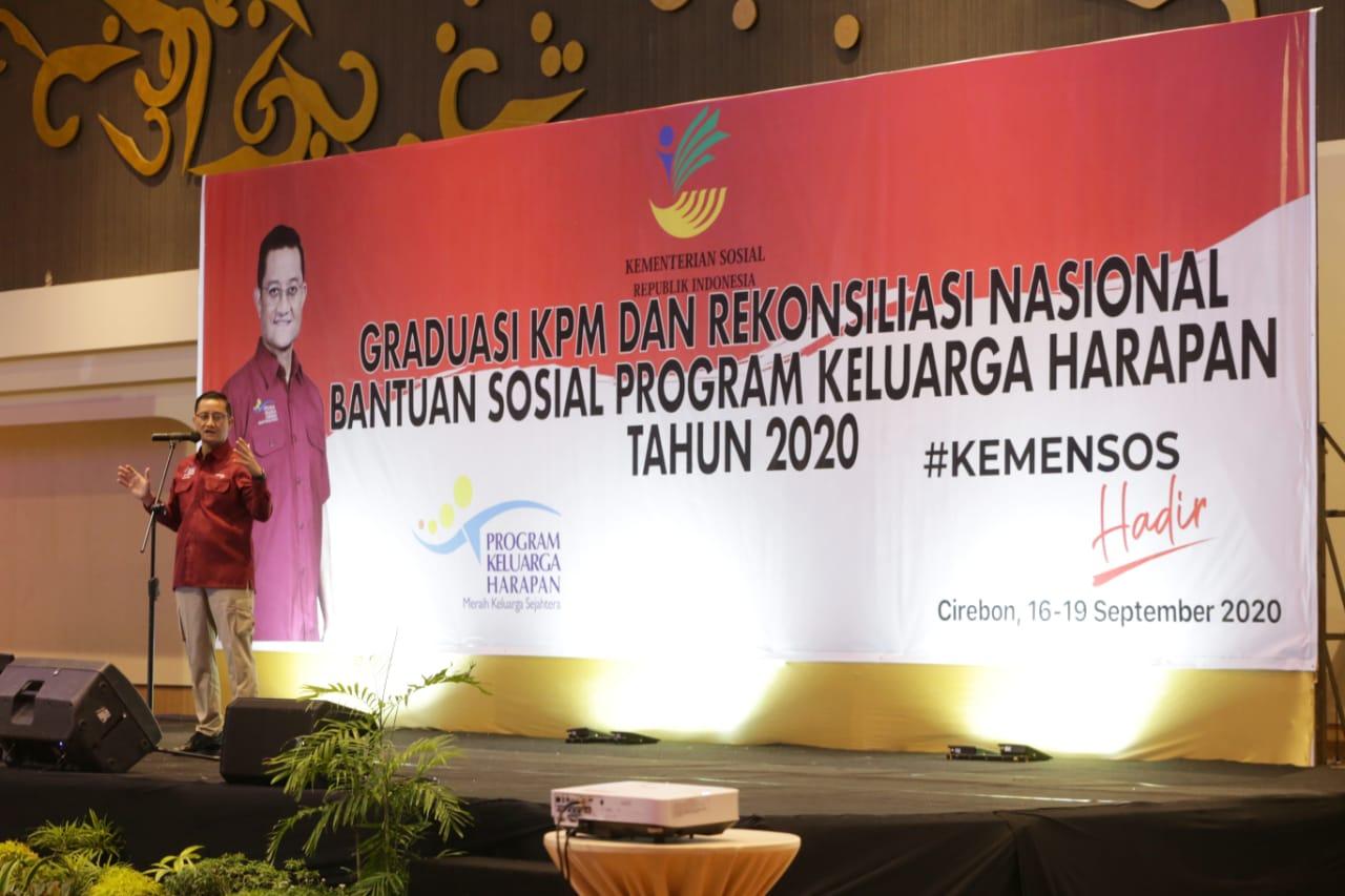 Mensos Juliari: Hingga Agustus 2020, 711.126 KPM PKH Graduasi Mandiri