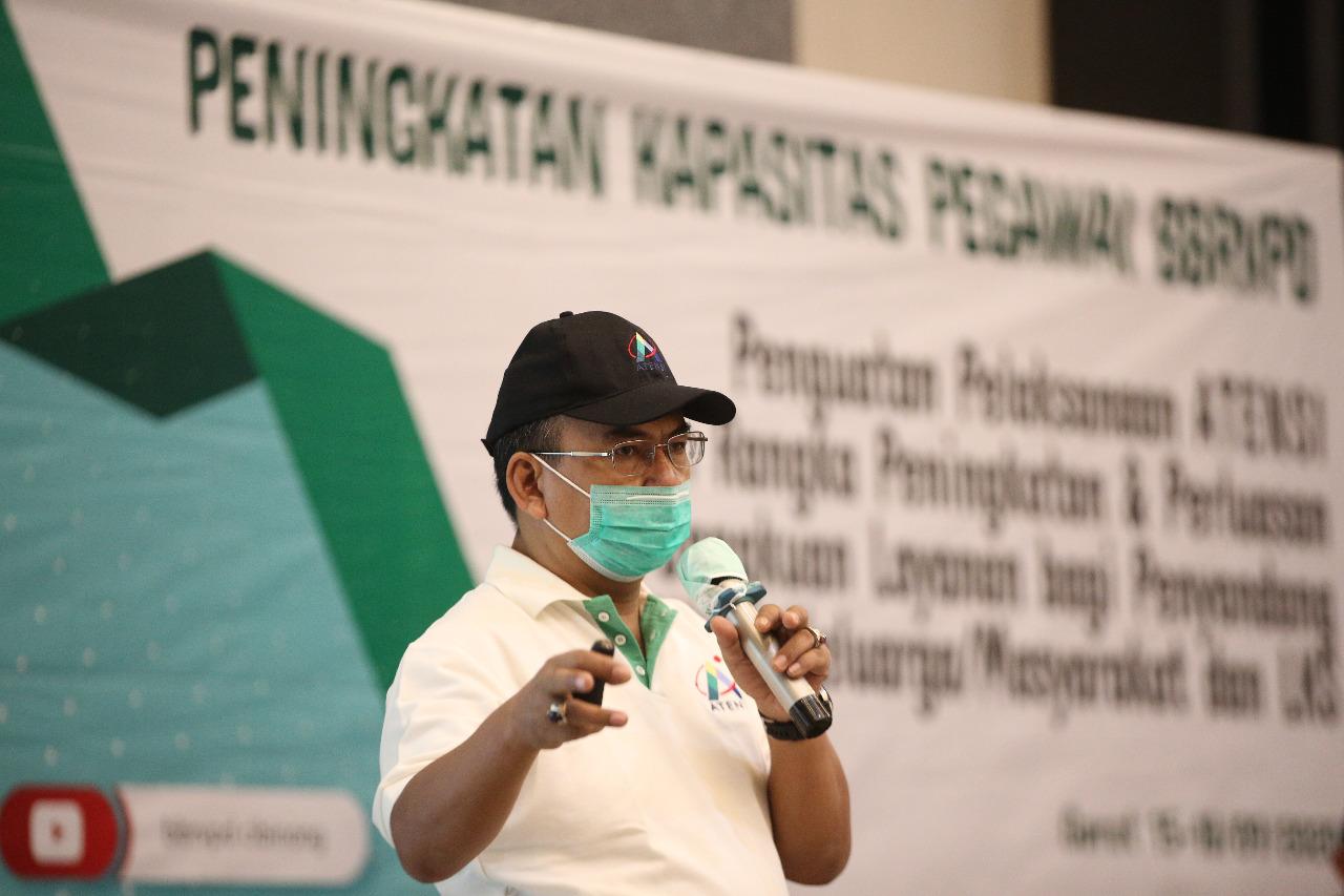 Dirjen Rehsos Dorong BBRVPD Cibinong Tumbuhkan Semangat Kewirausahaan