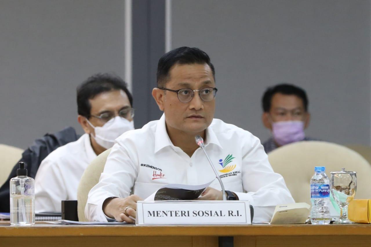 Mensos RI dan Komisi VIII DPR RI Bahas RKA K/L TA 2021