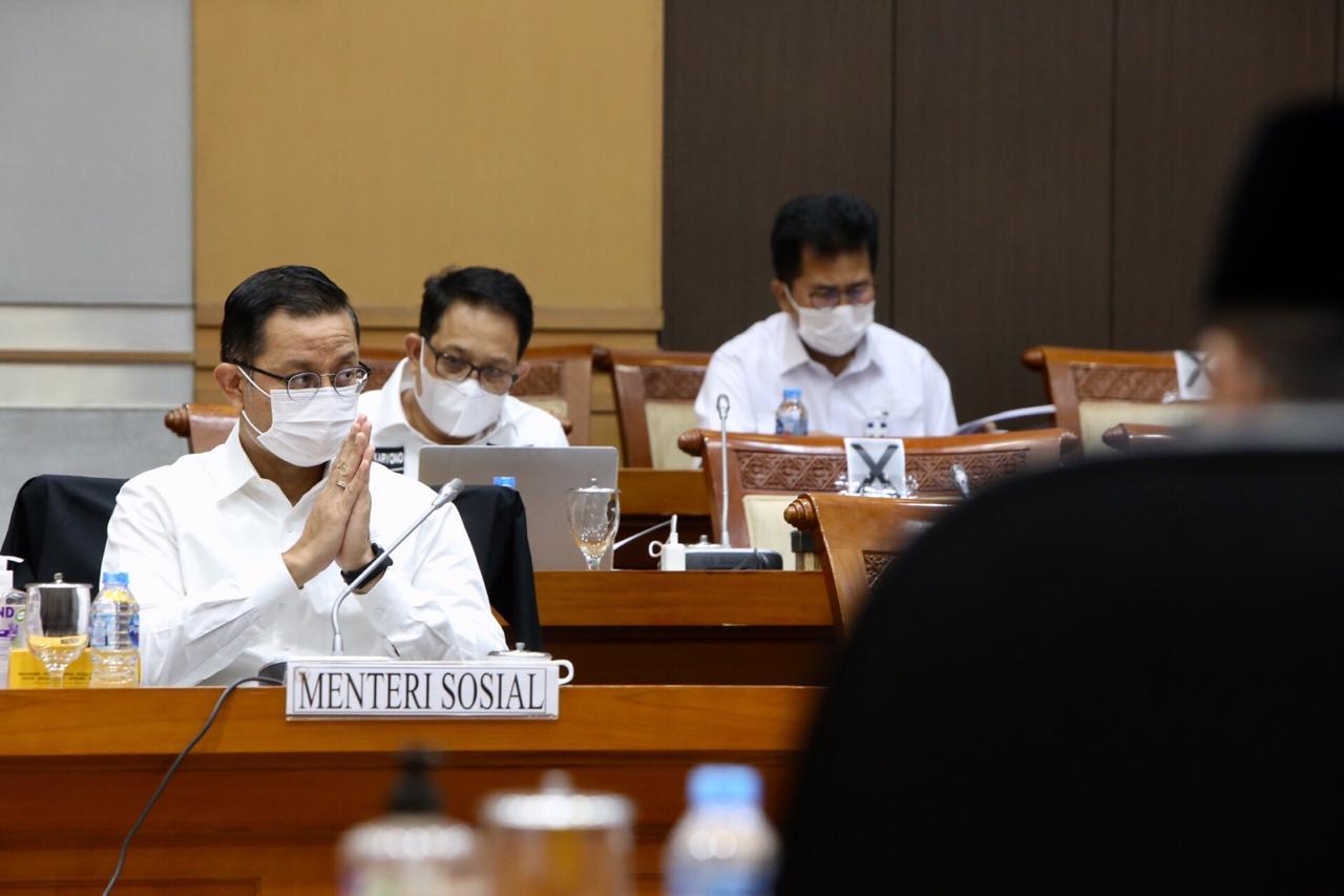 Komisi VIII DPR Gelar Rapat Kerja Bersama Mensos