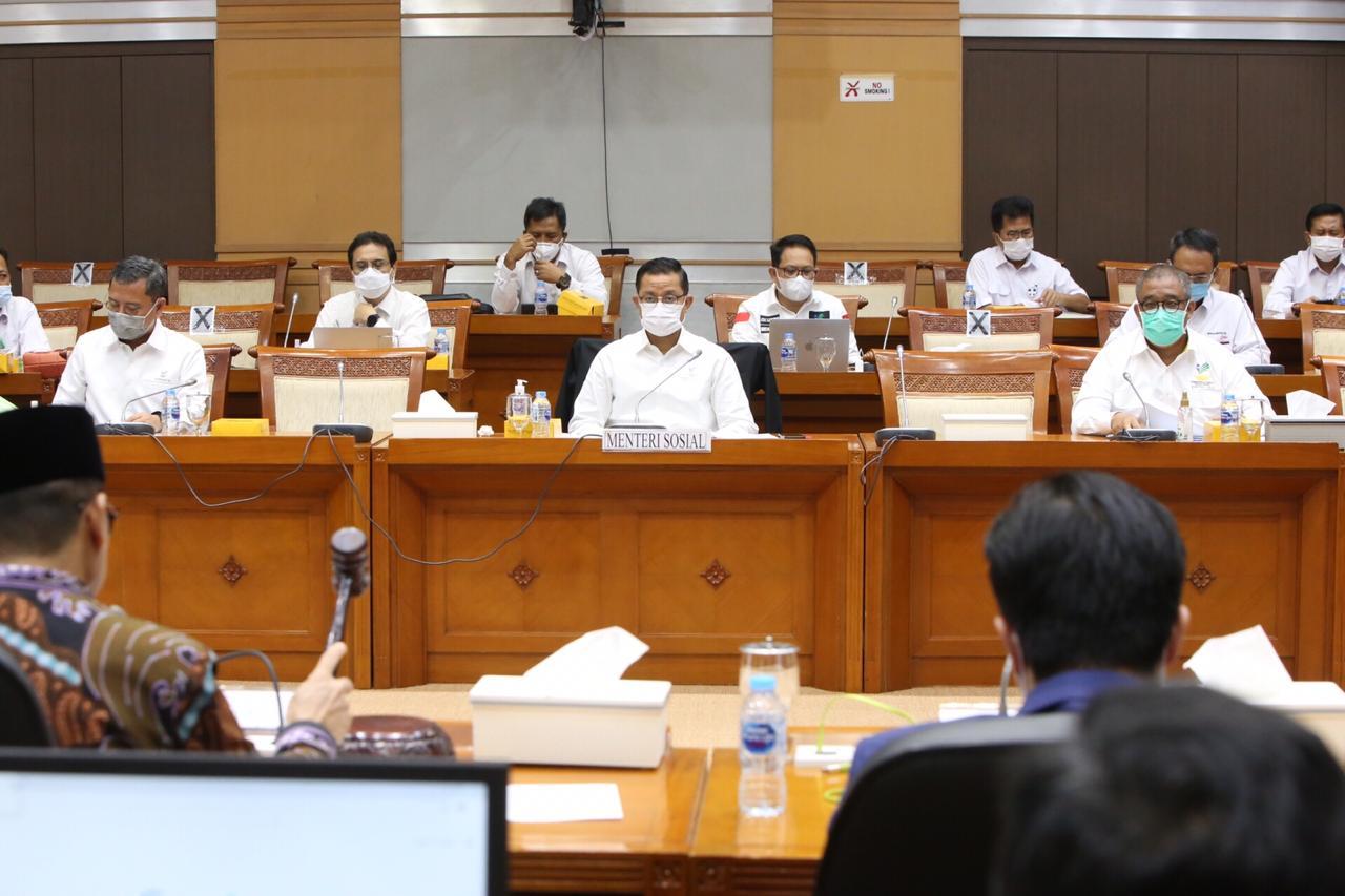 DPR RI Tekankan Lagi Dukungannya terhadap Anggaran Kemensos TA 2021
