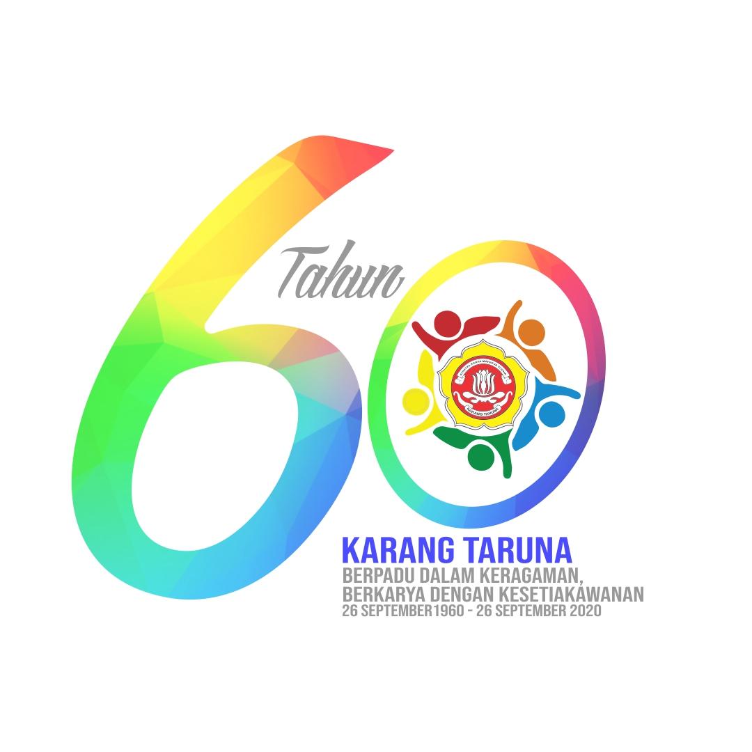 Logo HUT Karang Taruna Ke-60