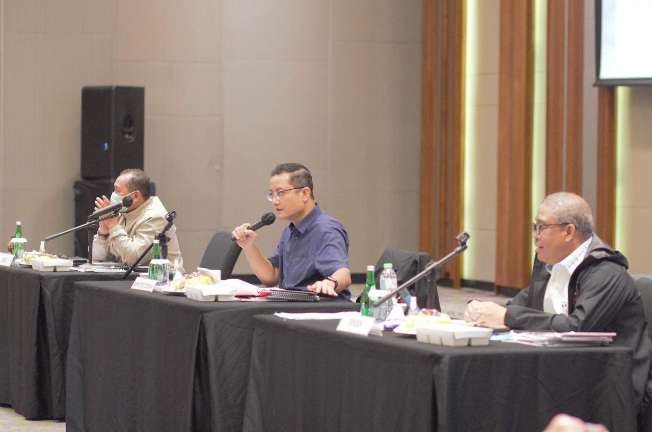Rapat Pimpinan Kementerian Sosial RI