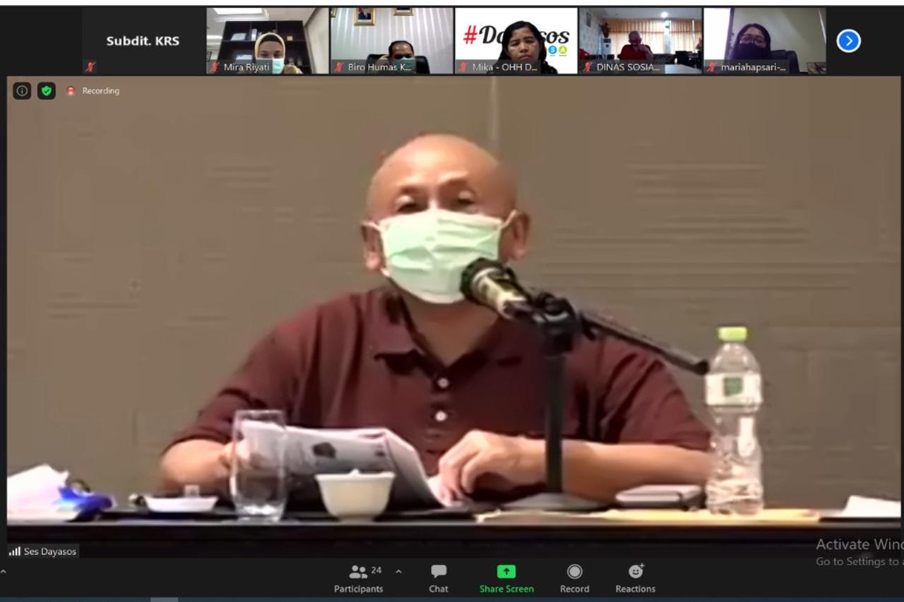 Rapat Koordinasi Peringatan HKSN Tahun 2020