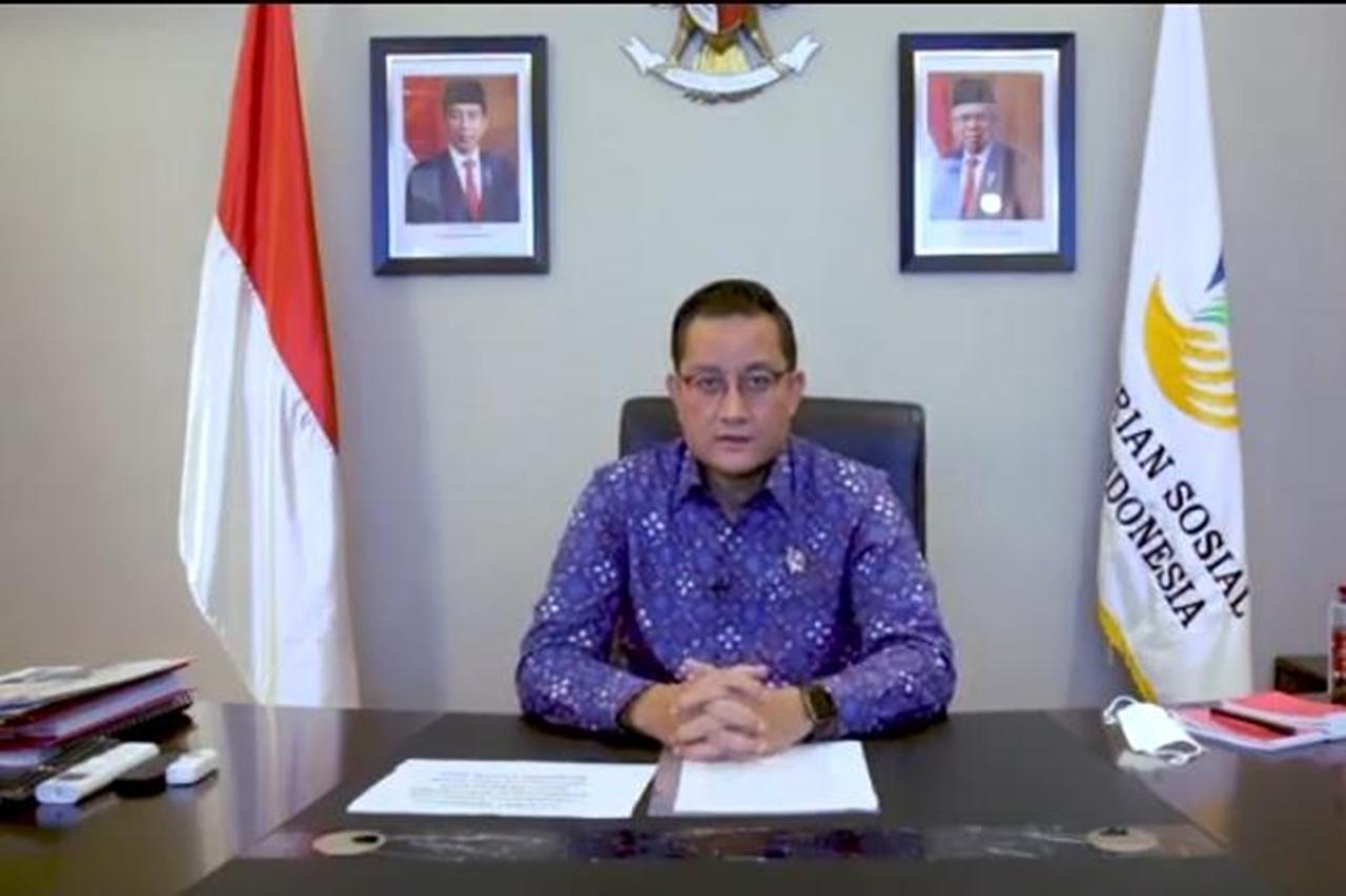 Sambut Mahasiswa Baru UnPas Bandung, Ini Pesan Khusus Mensos Juliari