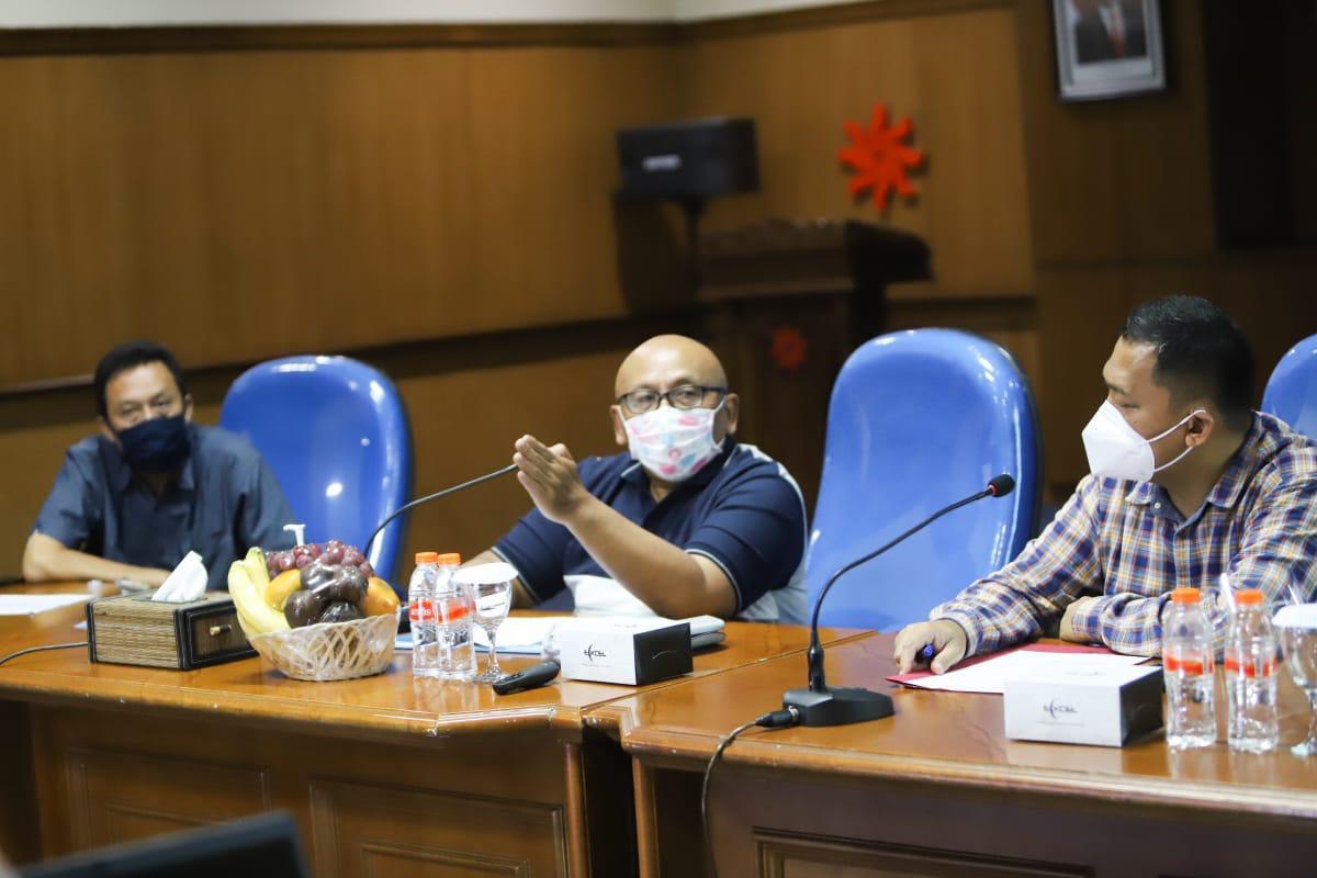 Rapat Progress Penyaluran BSB di Wilayah Jawa Barat