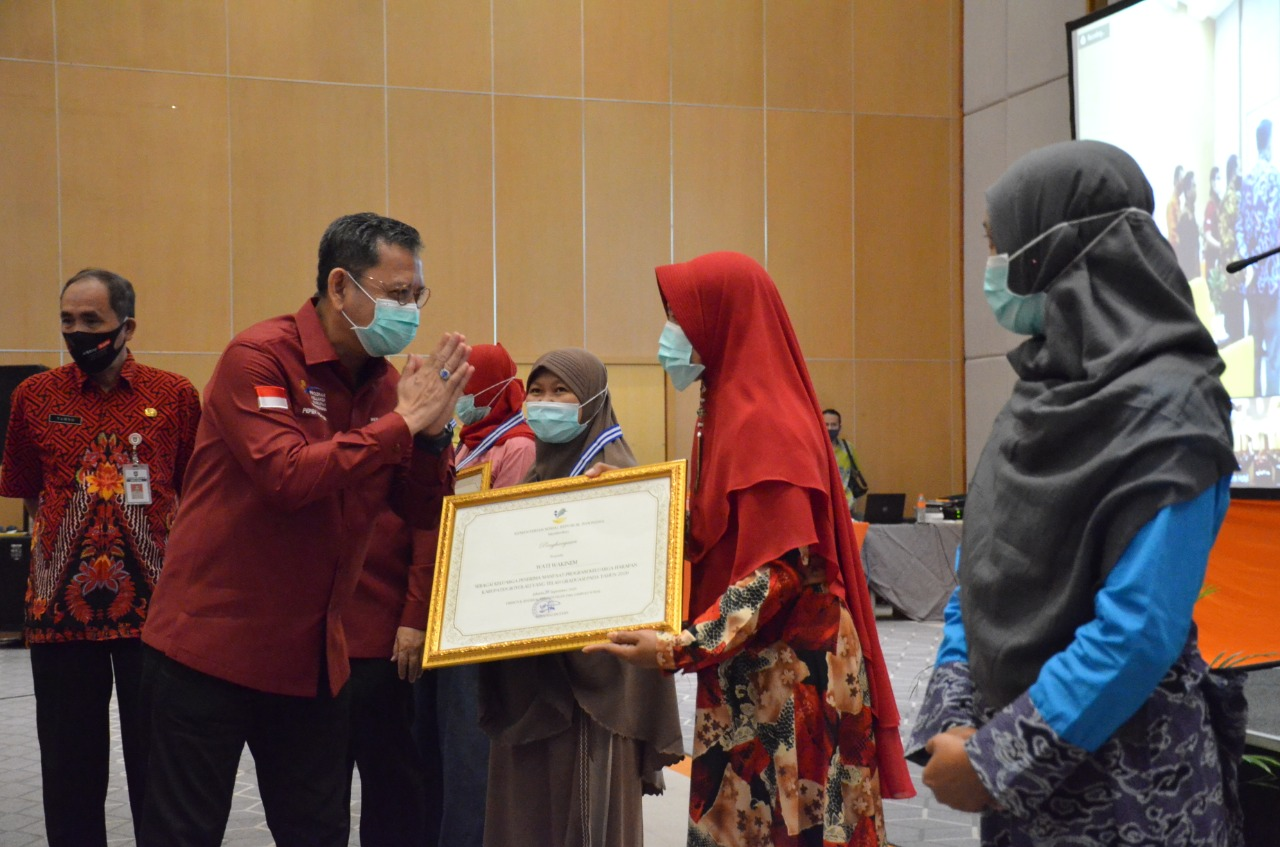 PKH Graduation Rate in Central Java Reaches 182,611 KPM