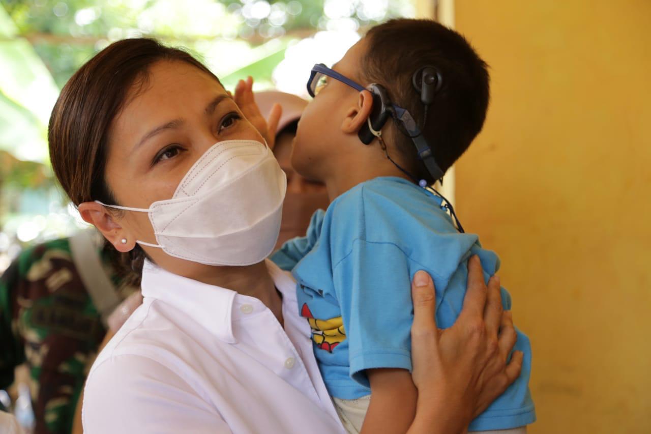 Kemensos Bantu Anak Penyandang Disabilitas Ganda di Bekasi