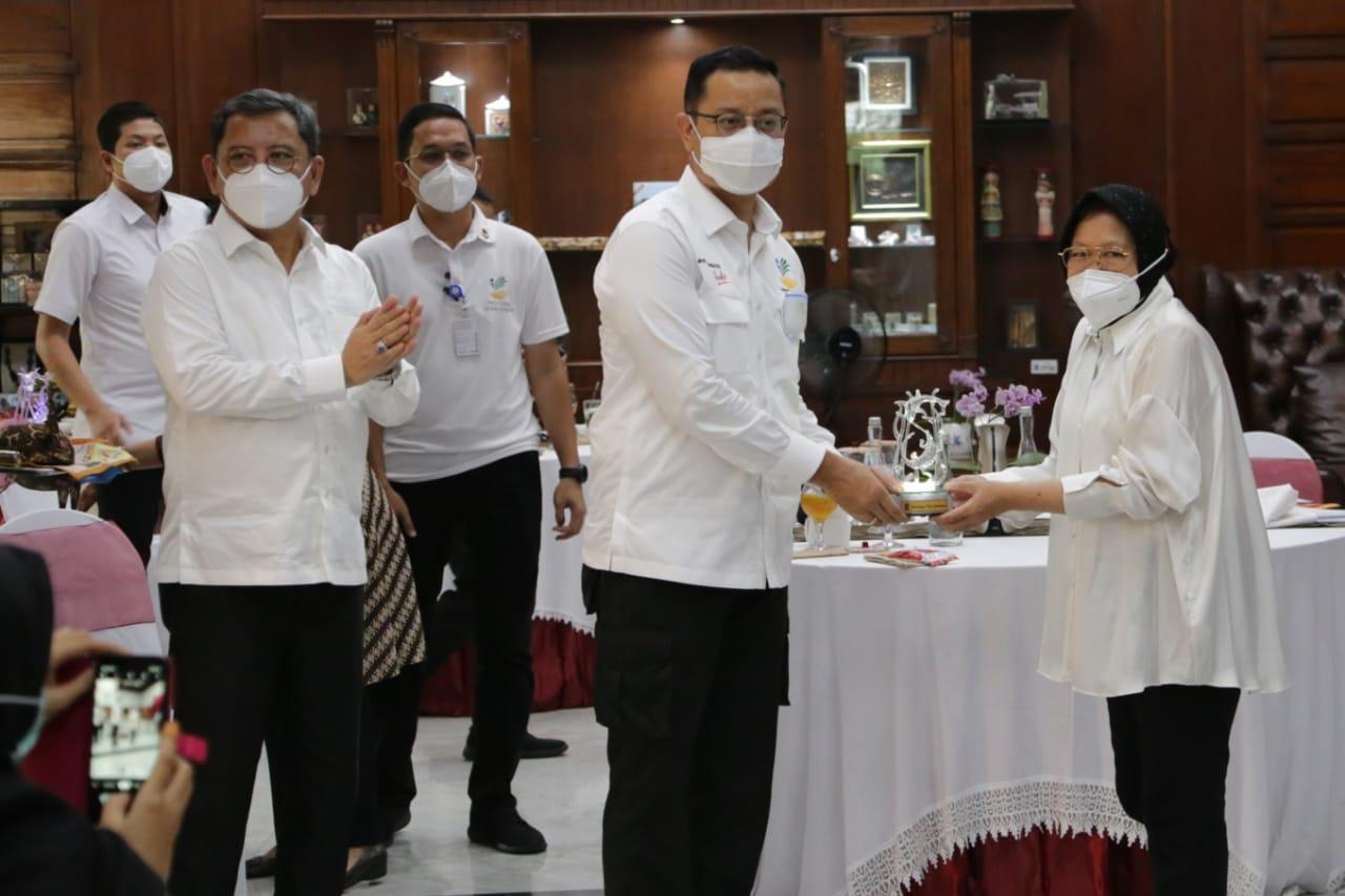 Koordinasi PKH dan BSB di Rumah Dinas Wali Kota Surabaya