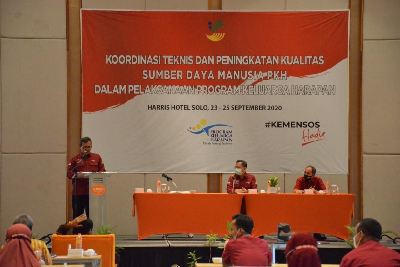 Koordinasi Teknis dan Peningkatan SDM PKH se-Karesidenan Surakarta
