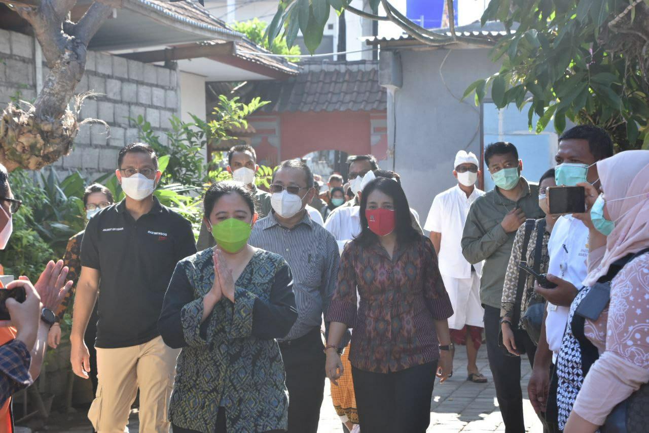 Menteri Sosial dan Menteri PPPA Dampingi Ketua DPR RI Lakukan Kunjungan Kerja Ke Provinsi Bali
