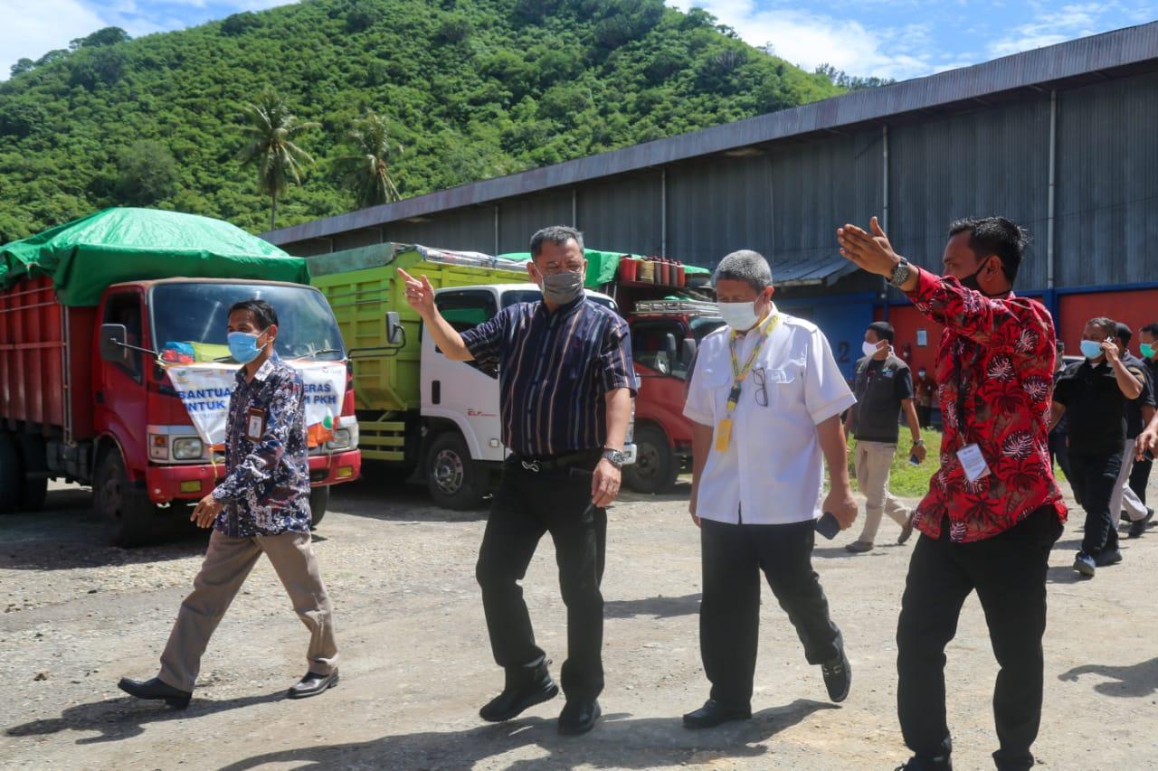 Pengecekan Gudang BSB Milik BULOG di Provinsi Gorontalo