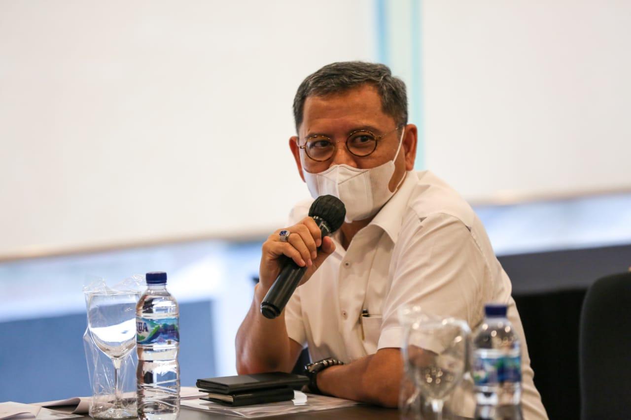 Rapat Evaluasi Penyaluran BSB untuk KPM PKH