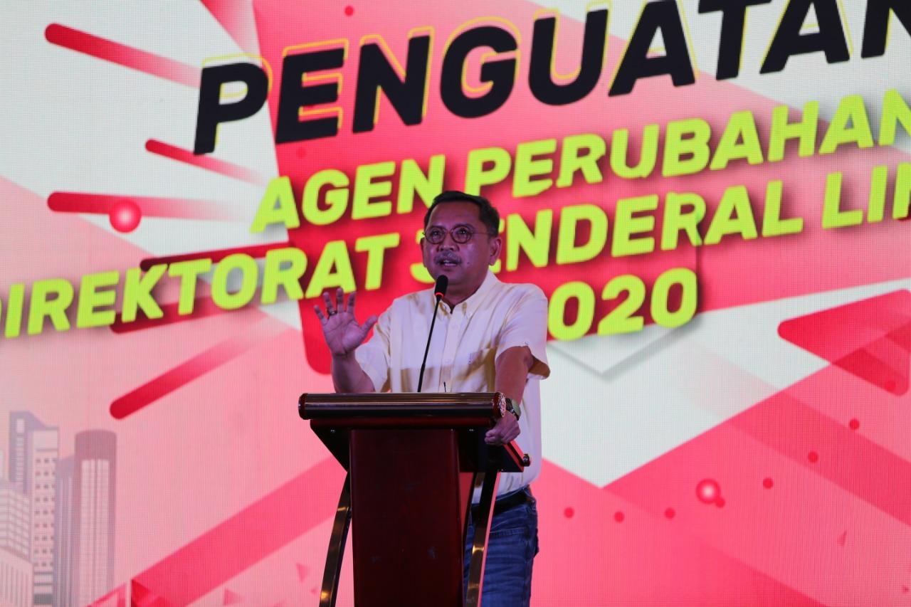 "Dirjen Linjamsos Berharap Pejabat Jadi ""Role Model"" Agen Perubahan"
