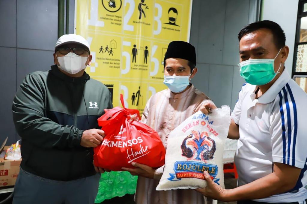 Bansos Kemensos Hadir bagi Warga Kecamatan Rancasari Kota Bandung