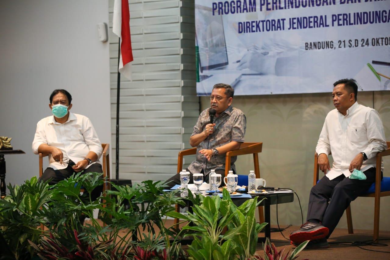 Pembahasan Hasil Monitoring dan Evaluasi Program Linjamsos Tahun 2020