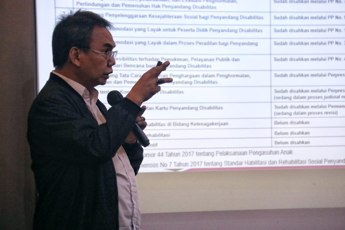 Dirjen Rehabilitasi Sosial Tegaskan Arah Kebijakan Program ATENSI