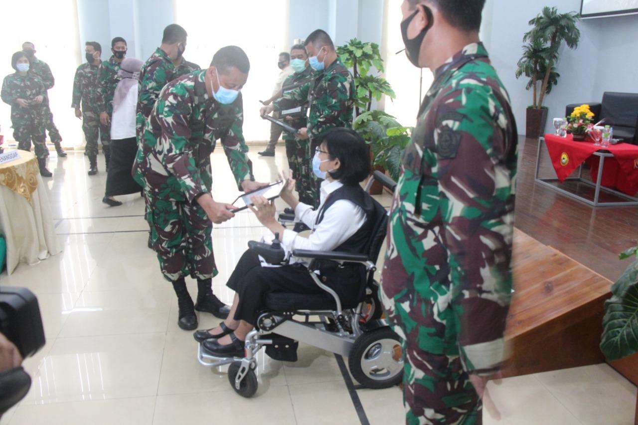 Kemensos Siap Jalin Kerjasama Dalam Pemenuhan Hak TNI Disabilitas