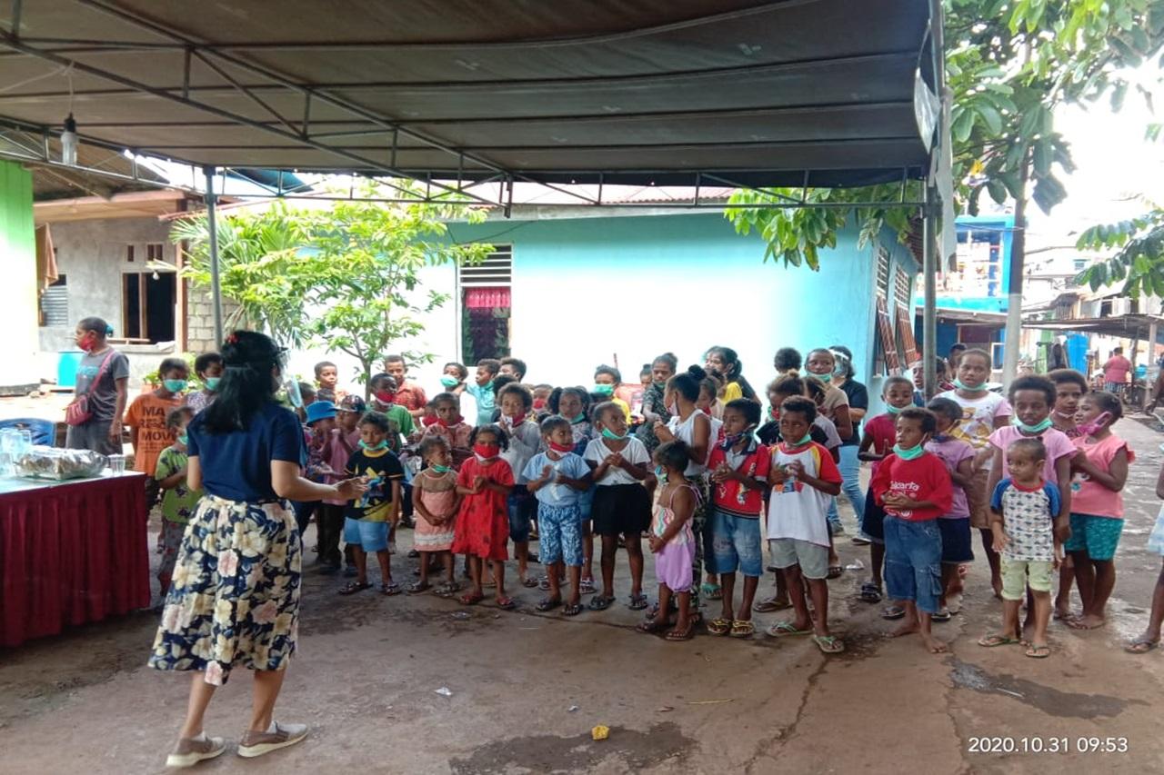 Tim LDP BBPPKS Jayapura Sambangi Posko Korban Bencana Kebakaran