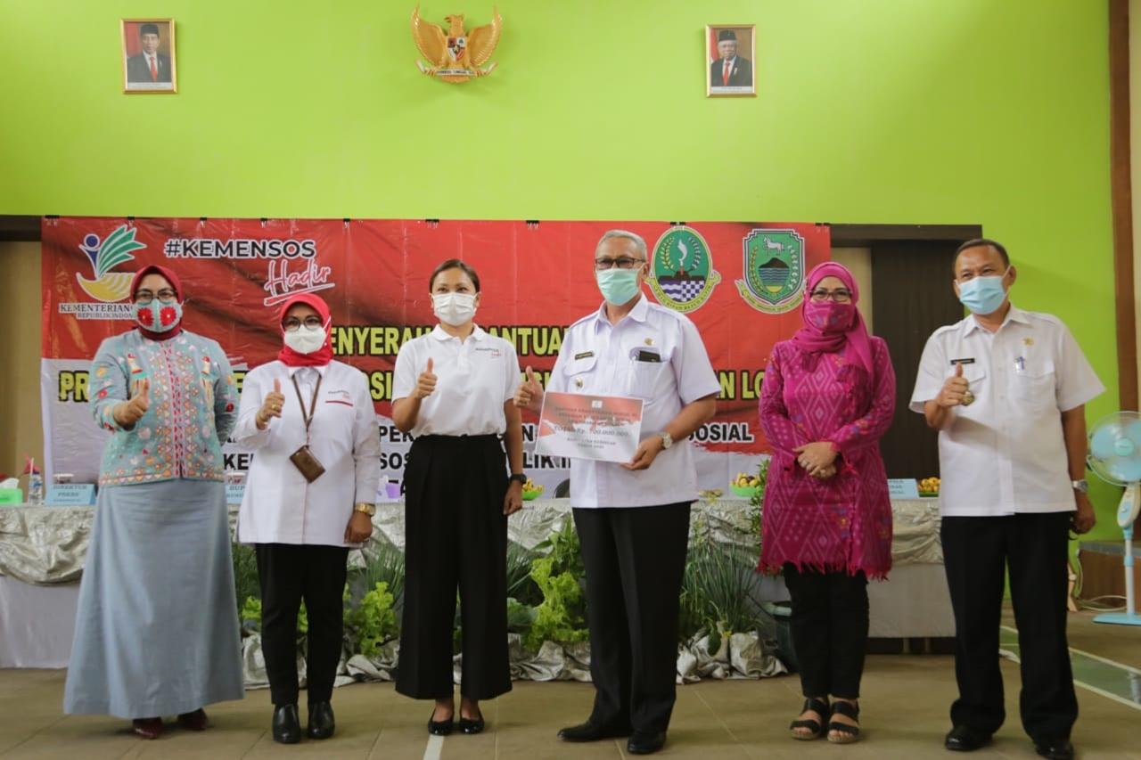 Apresiasi Talenta Daerah, Kemensos Salurkan Bantuan Program Keserasian Sosial dan Penguatan Kearifan Lokal