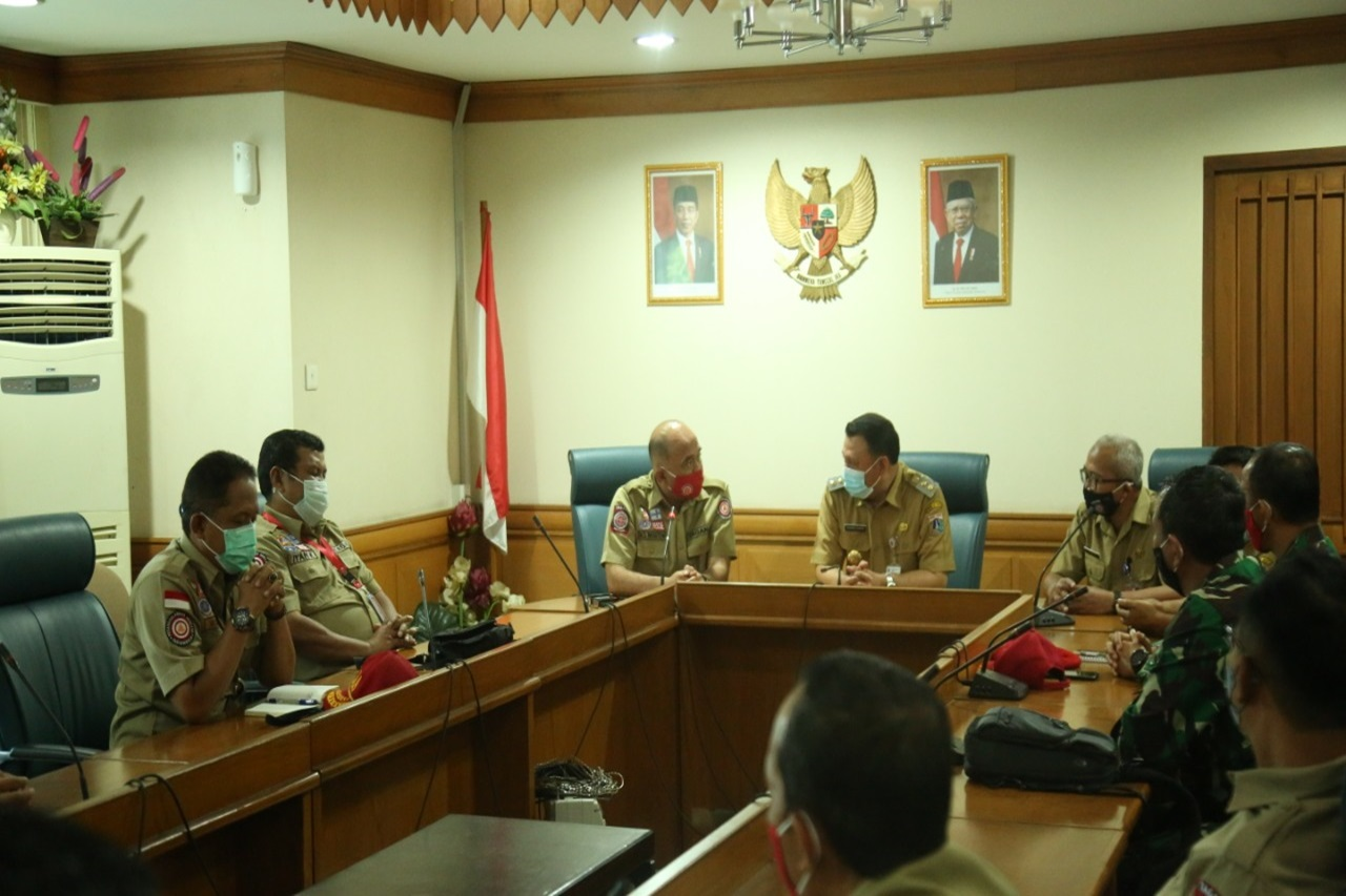 Facing the Impact of La Nina, the Ministry of Social Affairs is Ready to Support the Needs of the Government of DKI Jakarta