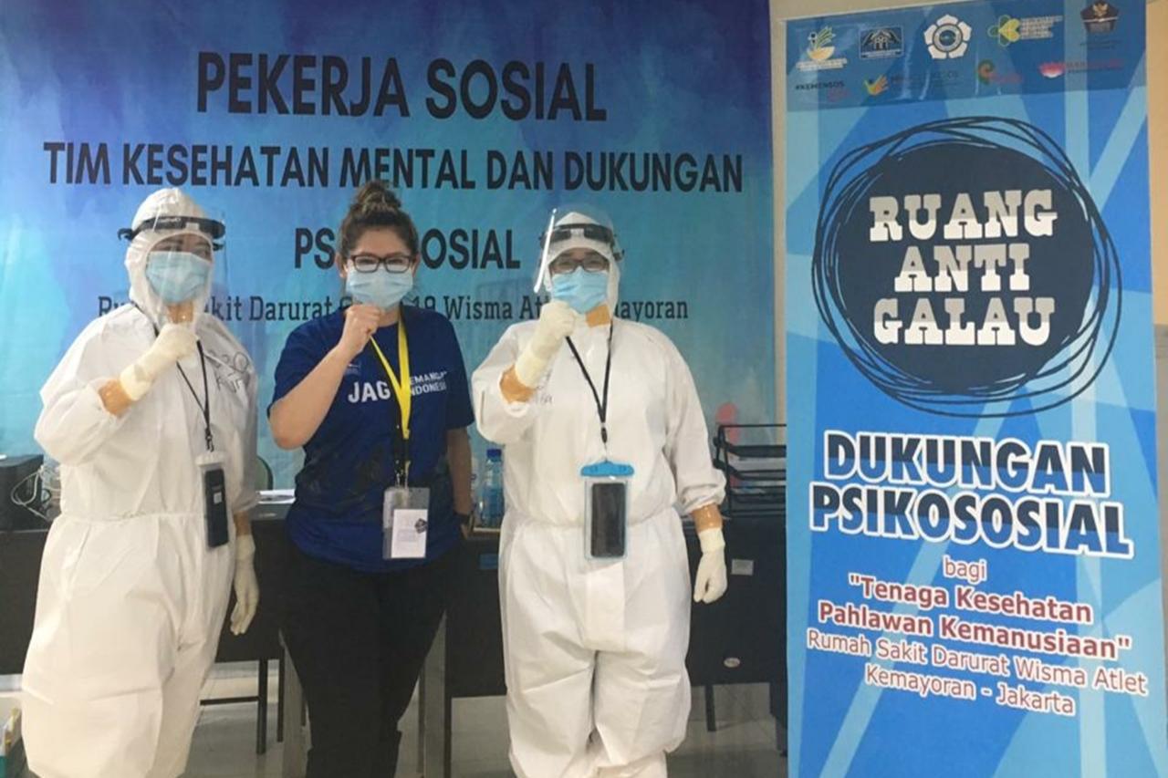 Pekerja Sosial sebagai Pahlawan Kesehatan Mental di Masa Pandemi COVID-19