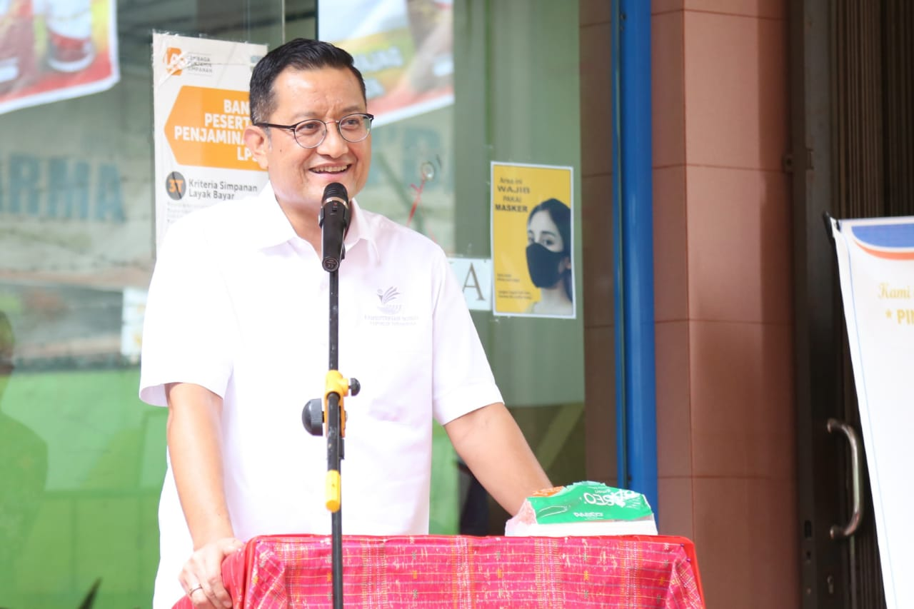 Returning to Simalungun, Minister of Social Affairs Greets Dozens of Islamic Boarding Schools and Student Worksheets with Social Assistance Worth Rp1.3 Billion