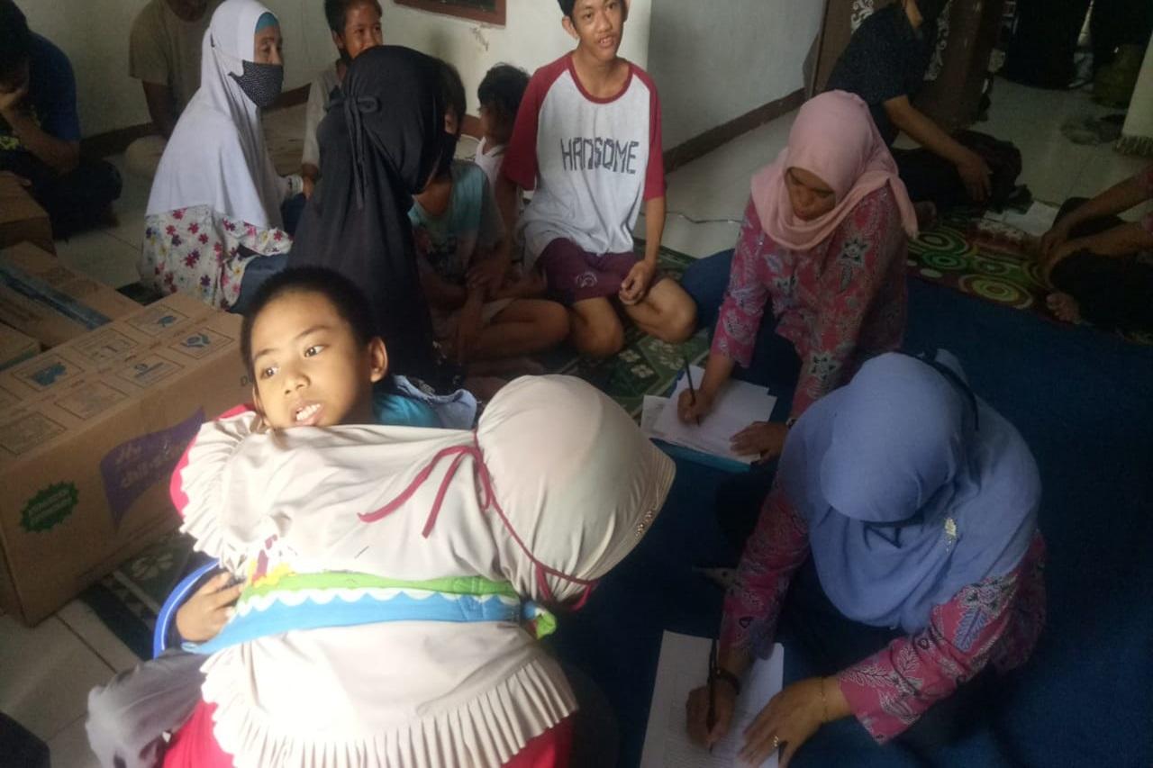 Respon Kasus Anak-Anak Disabilitas Terdampak Covid-19 di Jakarta