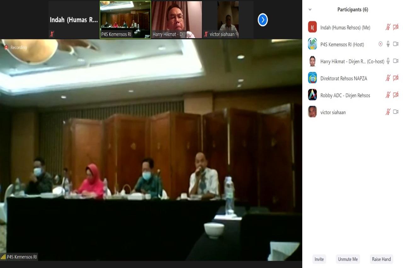 Kemensos Rancang Standar Kompetensi Kerja Nasional Indonesia