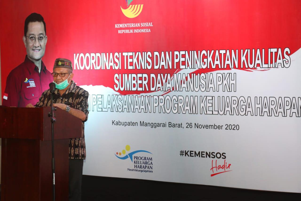 Koordinasi Teknis dan Peningkatan Kualitas SDM PKH di Manggarai Barat