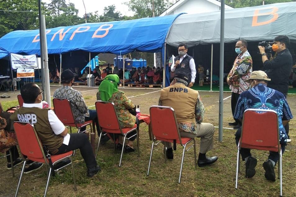 Gerak Cepat, Komisi VIII DPR RI Puji Langkah Kemensos Tangani Dampak Bencana Erupsi Gunung Merapi