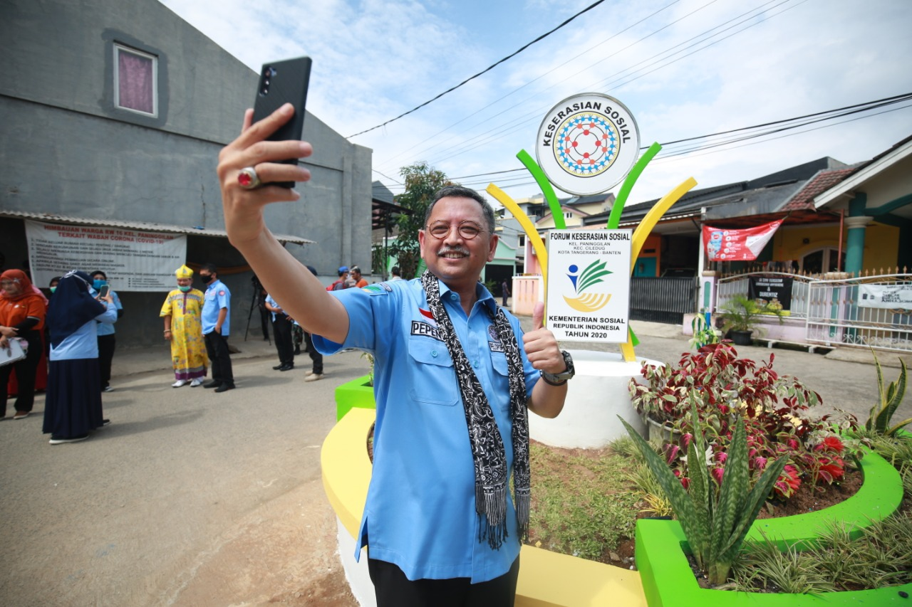 Inauguration of the Social Harmony Monument in Ciledug