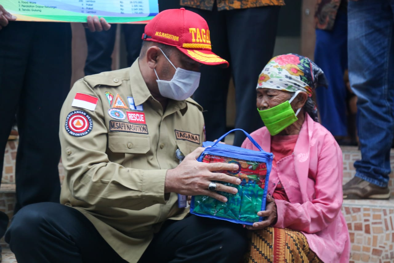 Pre-eruption of Merapi, Ministry of Social Affairs Ensures All Needs of Refugees