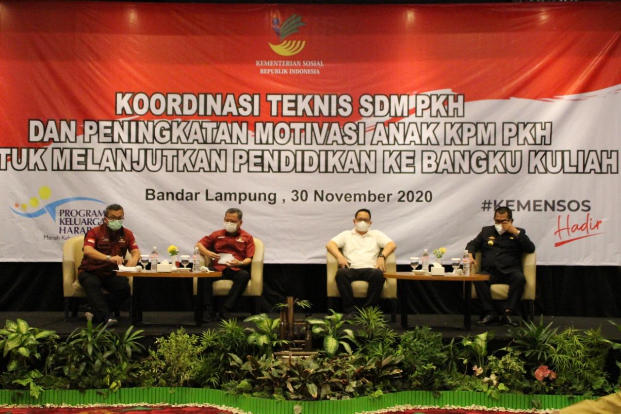 Gerakan Ayo Kuliah Anak KPM PKH di Lampung