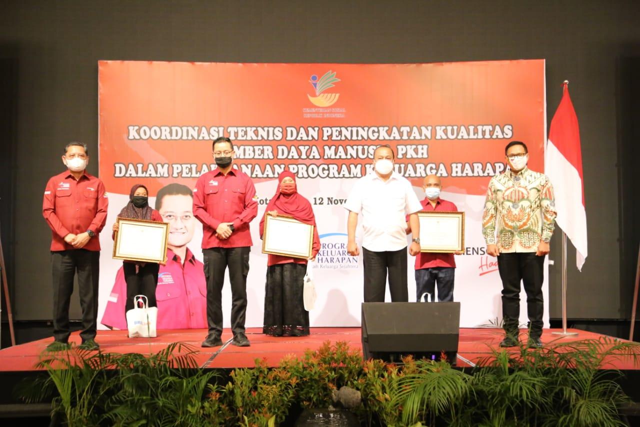 Koordinasi Teknis dan Peningkatan SDM PKH di Medan