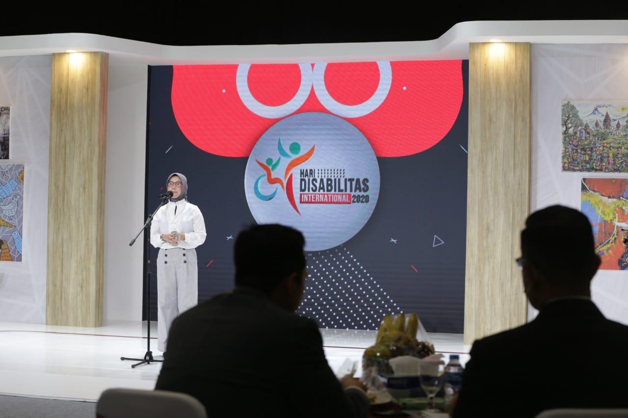 Acara Puncak Hari Disabilitas Internasional 2020