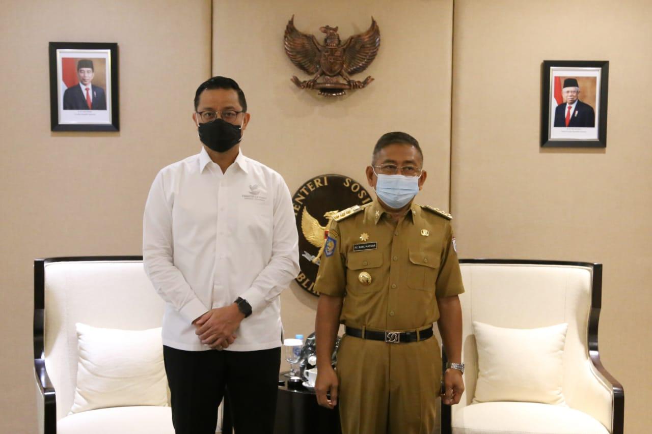 Audiensi Kemensos dan Pemda Sulawesi Barat