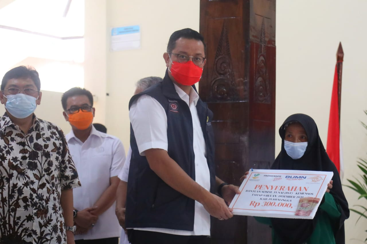 Menteri Sosial Sapa SDM PKH dan LKS di Purbalingga