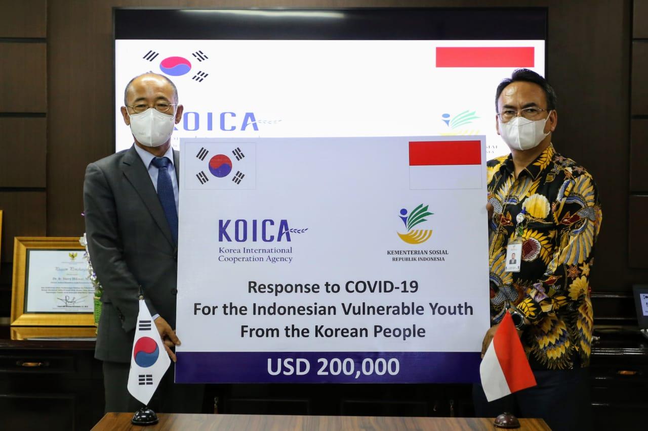 MoU Kemensos dan KOICA bagi Rehabilitasi Sosial Pemuda Kelompok Rentan