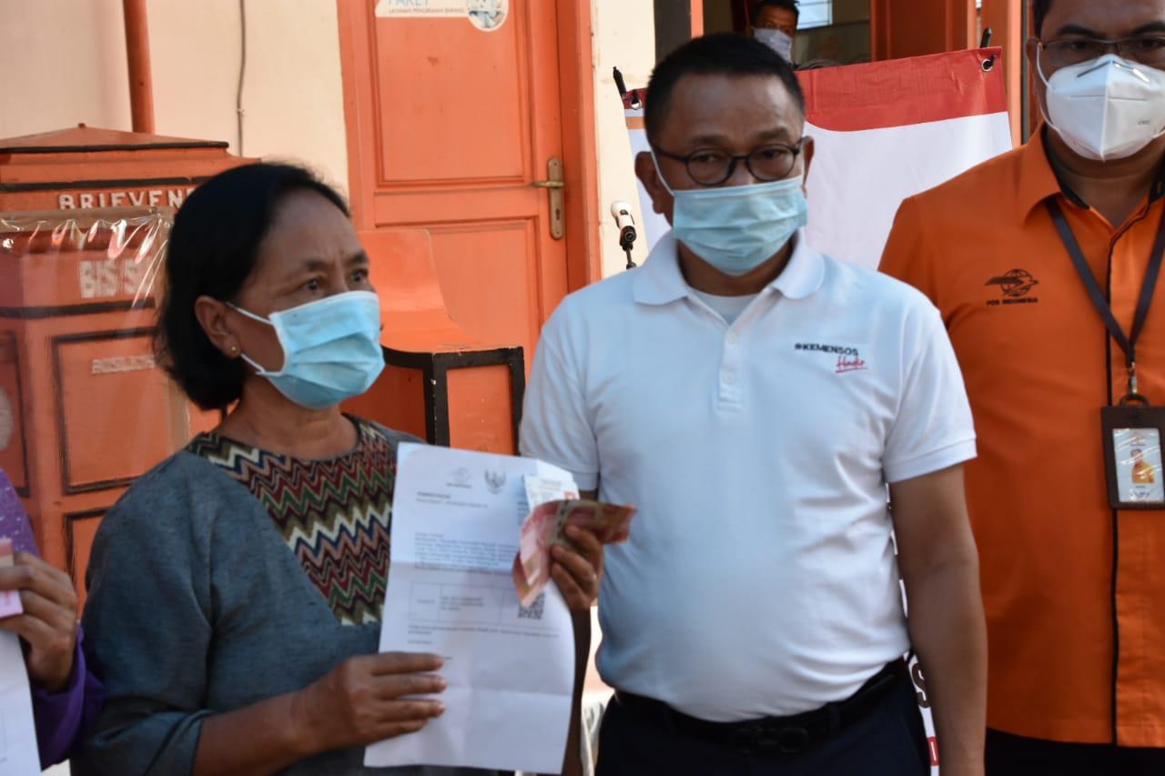 Kunjungi Malang, Direktur PFM Wilayah III Tinjau Salur BST Tahap 9